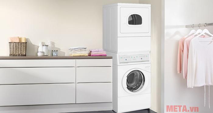 Thời gian giặt và sấy của máy được tiết kiệm tối đa cho người dùng