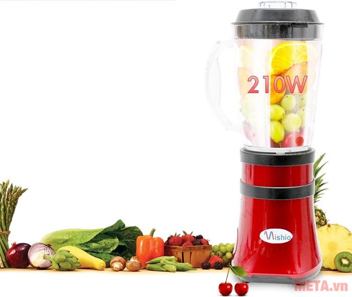 Miệng cối được thiết kế rộng giúp người dùng dễ dàng lấy thực phẩm hơn