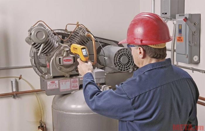 Fluke 566 phù hợp để đo nhiệt độ ở khu vực nhiệt độ quá nóng