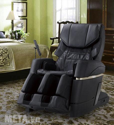 Ghế massage màu đen