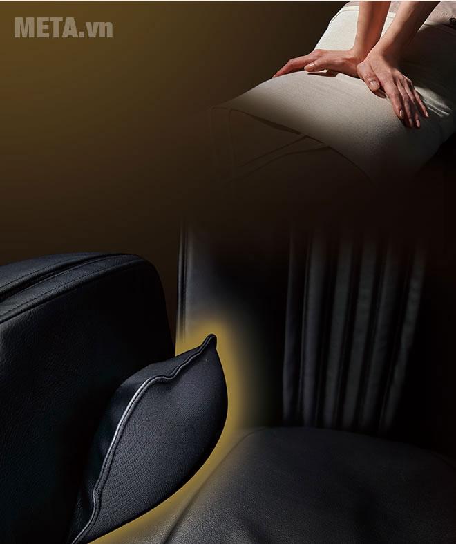 Ghế massage mang đến cảm giác êm ái