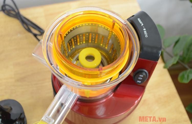 Cấu tạo máy ép trái cây tốc độ chậm Mishio MK60