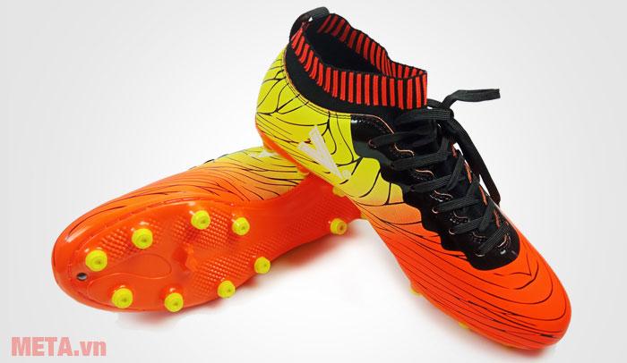 Giày đá bóng Mitre MT 161115 Orange - Lime