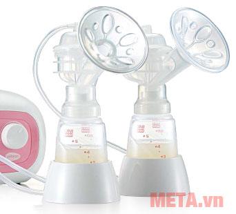 Máy hút sữa điện đôi Forte UM880113