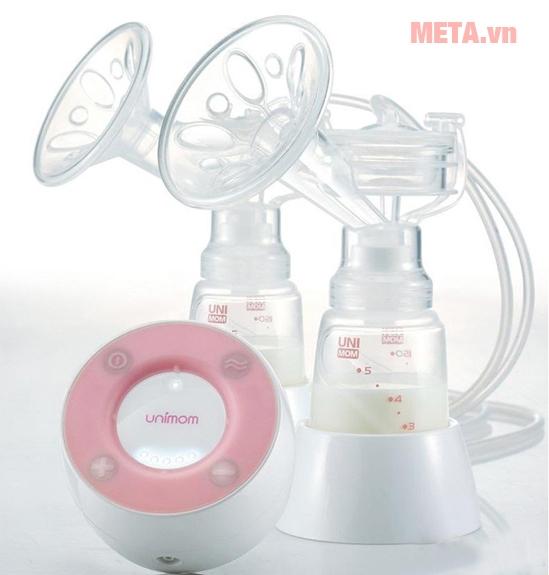 Máy hút sữa điện đôi Unimom Minuet UM871692