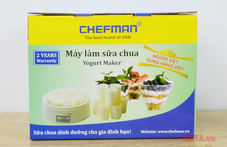 Hộp đựng máy làm sữa chua gia đình Chefman CM-301