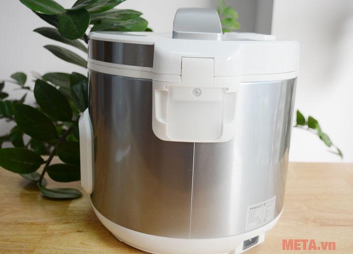 Khay đựng nước thừa giúp nồi giữ vệ sinh tốt
