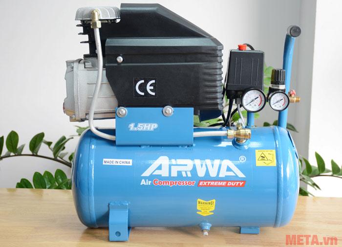 Máy nén khí Arwa AW-1518 có bình khí 18 lít