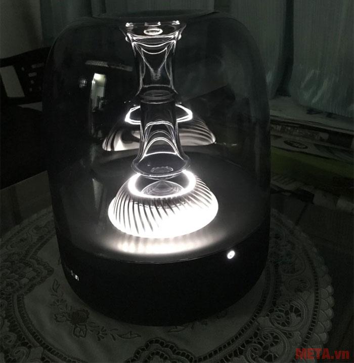 Hệ thống đèn led sẽ hoạt động khi bạn nghe nhạc