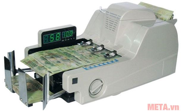 Máy đếm tiền và kiểm tra tiền siêu giả Polymer