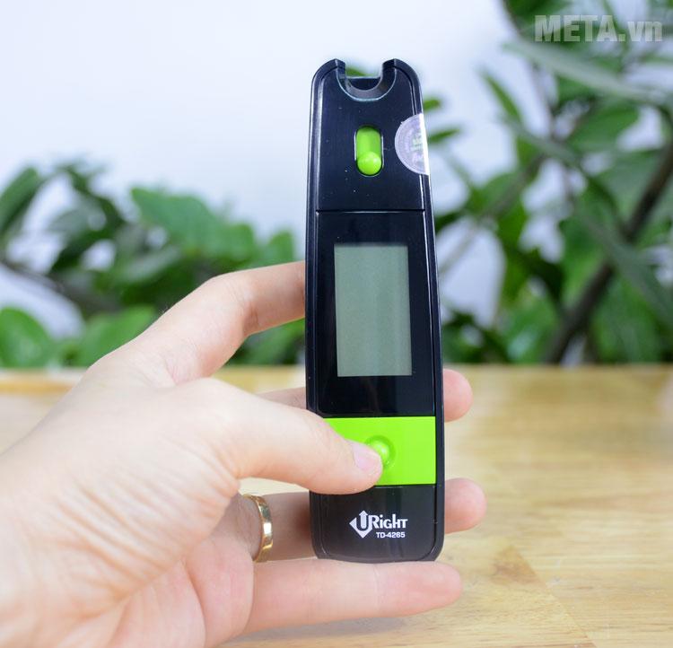 Máy đo đường huyết Uright TD4265 có thiết kế nhỏ gọn, dễ dàng mang theo
