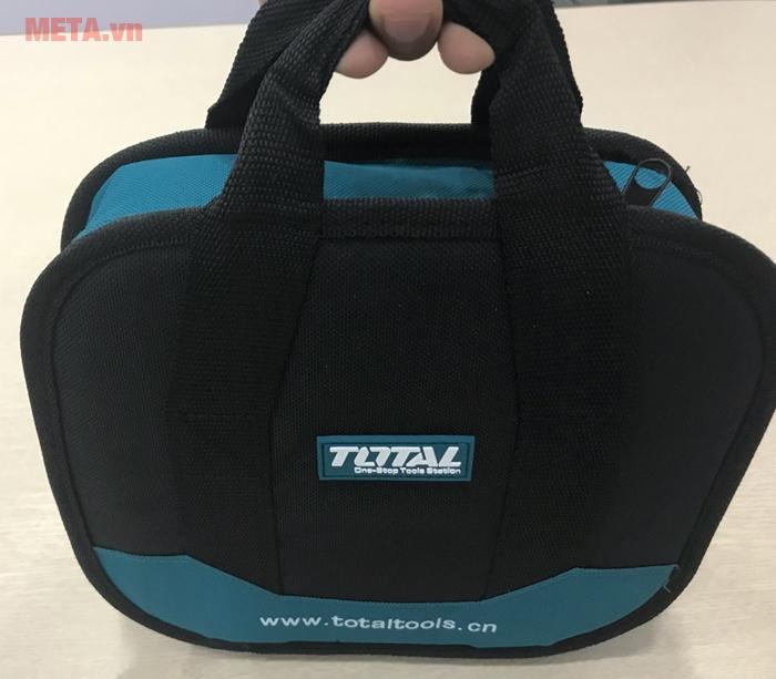Máy khoan vặn vít dùng pin Total TDLI228120 kèm 2 pin sạc