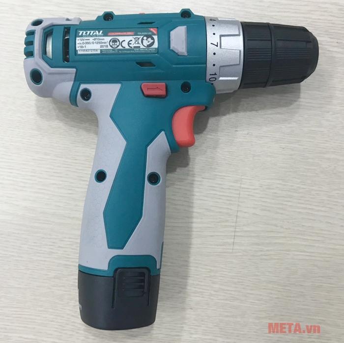 Máy khoan vặn vít dùng pin Total TDLI228120 có đèn Led