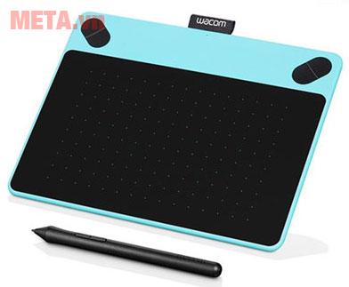 Bảng vẽ máy tính màu xanh