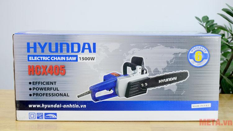Hộp đựng máy cưa xích Hyundai HCX405