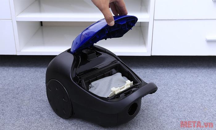 Người dùng có thể dễ dàng vệ sinh thay thế túi bụi