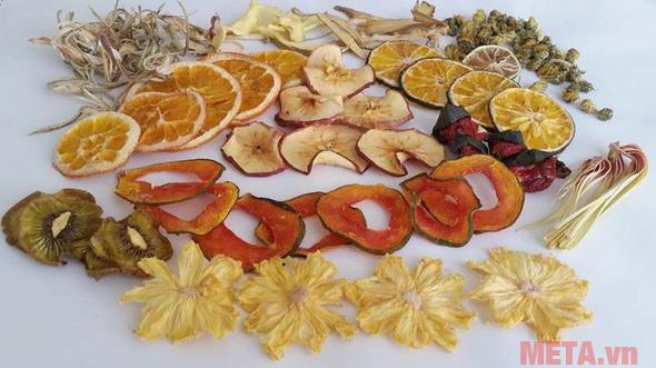 Detox hoa quả khô khi hoàn thành