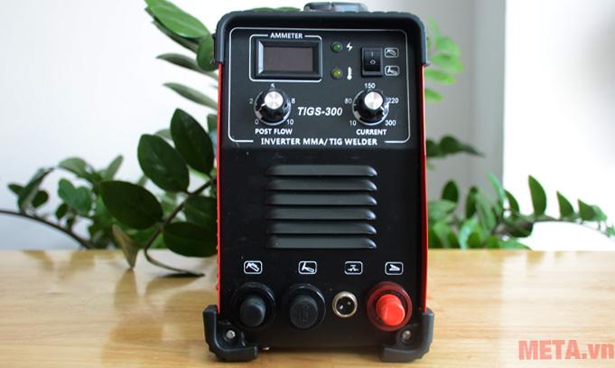 Máy hàn Alisen TIGS-300 có tông màu đỏ tươi sáng