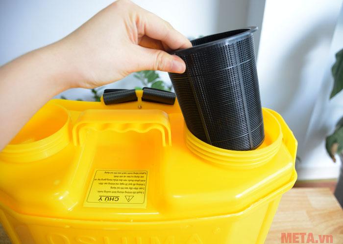 Phễu lọc nước cho Bình xịt điện