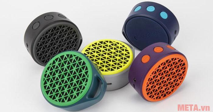 Loa di động Logitech X50 Wireless Speaker có 5 màu đẹp mắt