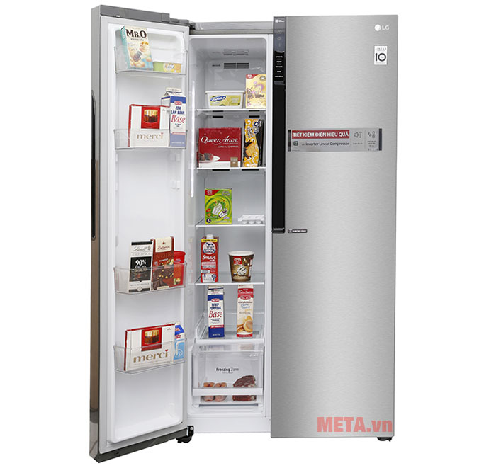 Tủ lạnh LG Inverter GR-B247JDS