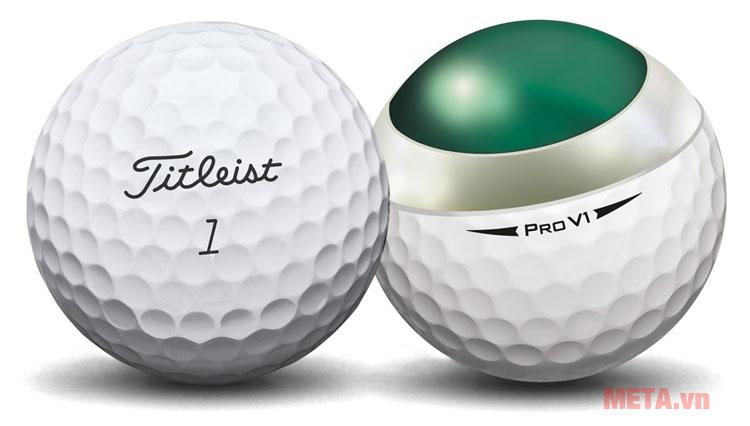 Hình ảnh bóng chơi golf Titleist Pro V1
