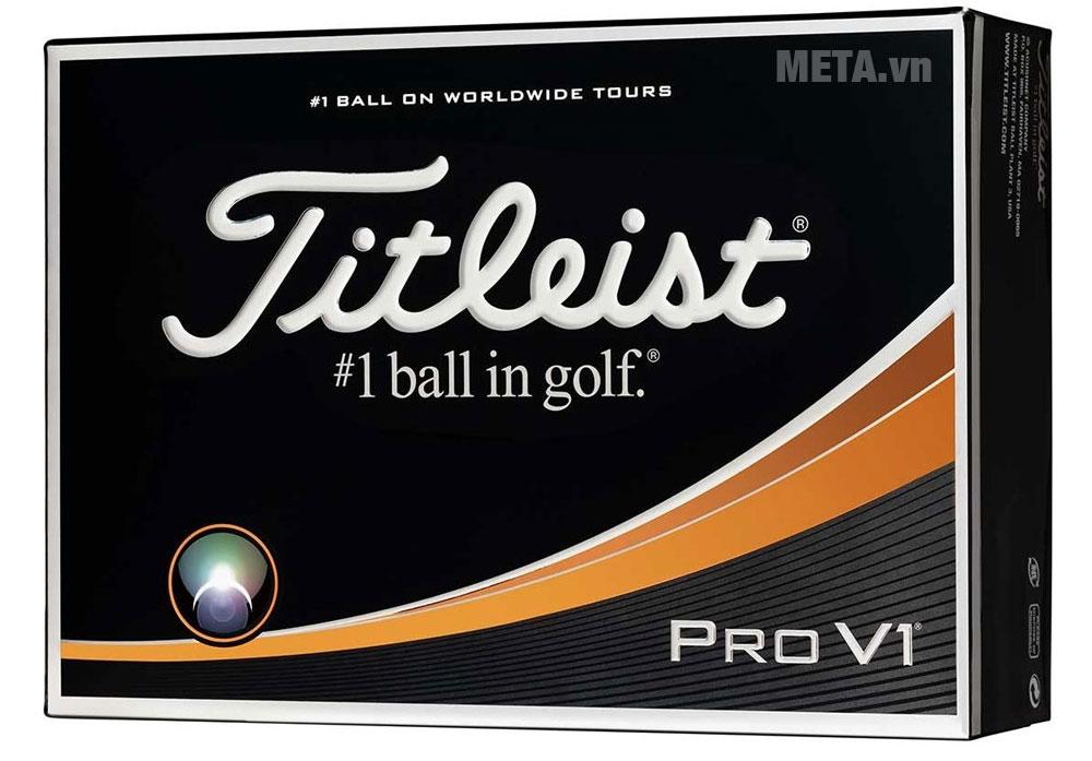 Hộp đựng bóng golf Titleist Pro V1