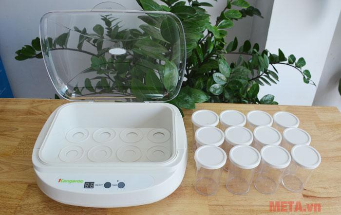 Máy làm sữa chua Kangaroo KG82 dễ dàng sử dụng và lắp đặt