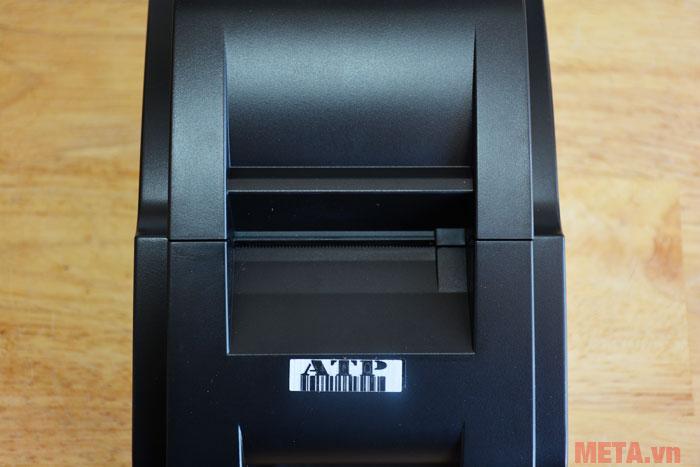 Khe giấy có khả năng tự cắt khi kết thúc hóa đơn