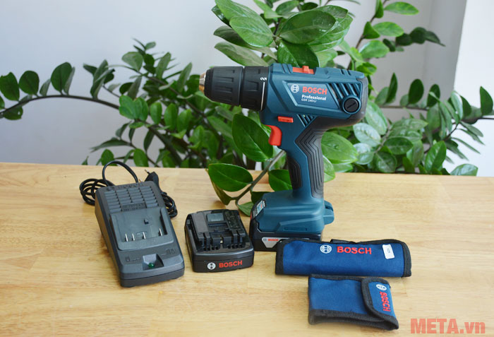 GSR 140 LI thiết kế nhỏ gọn để bạn dễ dàng mang theo khi làm việc