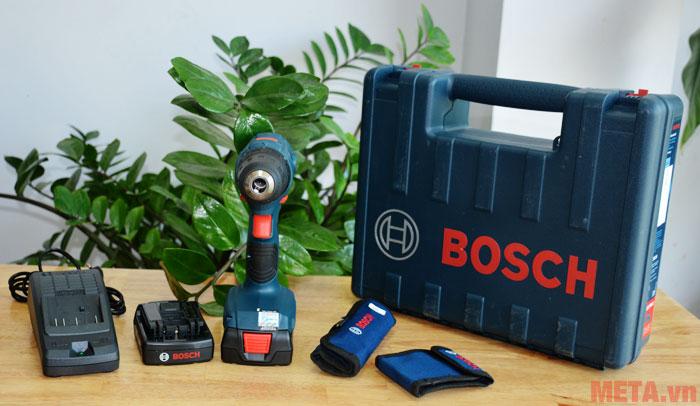 Trọn bộ sản phẩm máy khoan Bosch GSR 140 LI