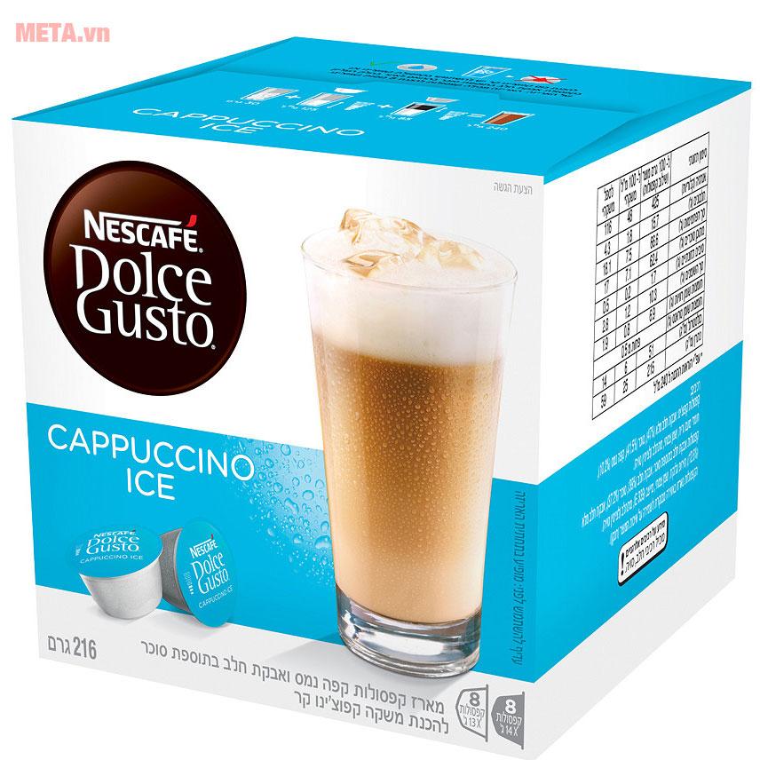 Viên nén cà phê vị cà phê sữa mang đến hương vị thơm ngon