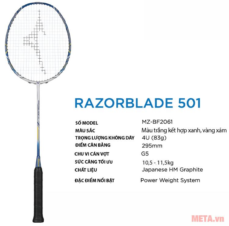 Mizuno RAZORBALDE 501