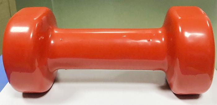 Tạ tay thép bọc cao su XD-01 2kg