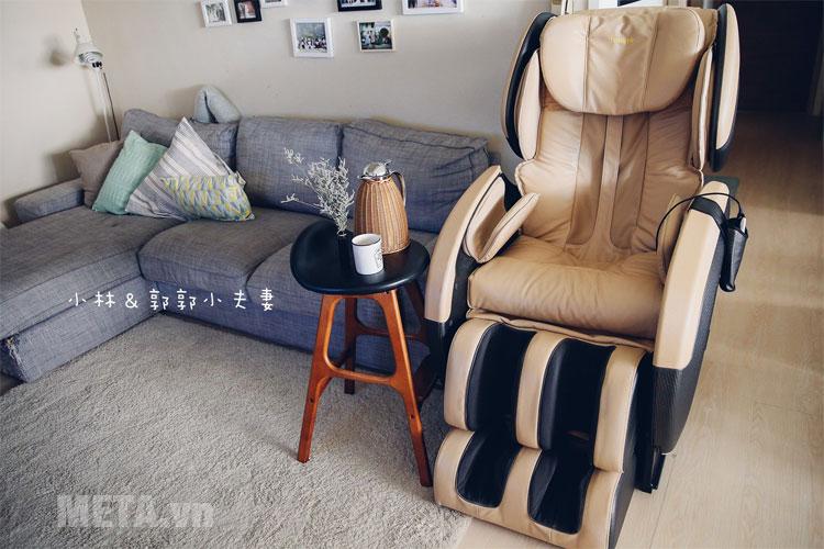 Ghế massage toàn thân JC-3680 được tích hợp nhiều công nghệ hiện đại