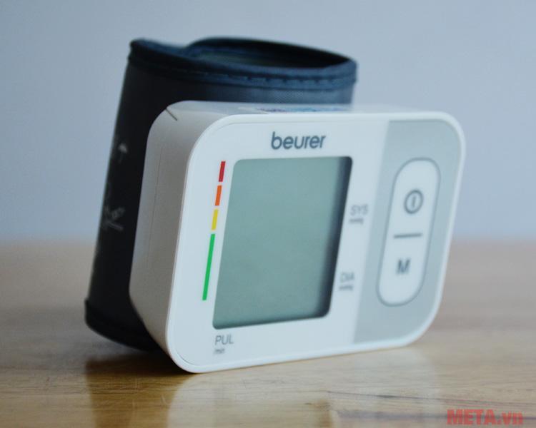 Máy đo huyết áp cổ tay Beurer BC28 có tem chống hàng giả của Bộ Công An