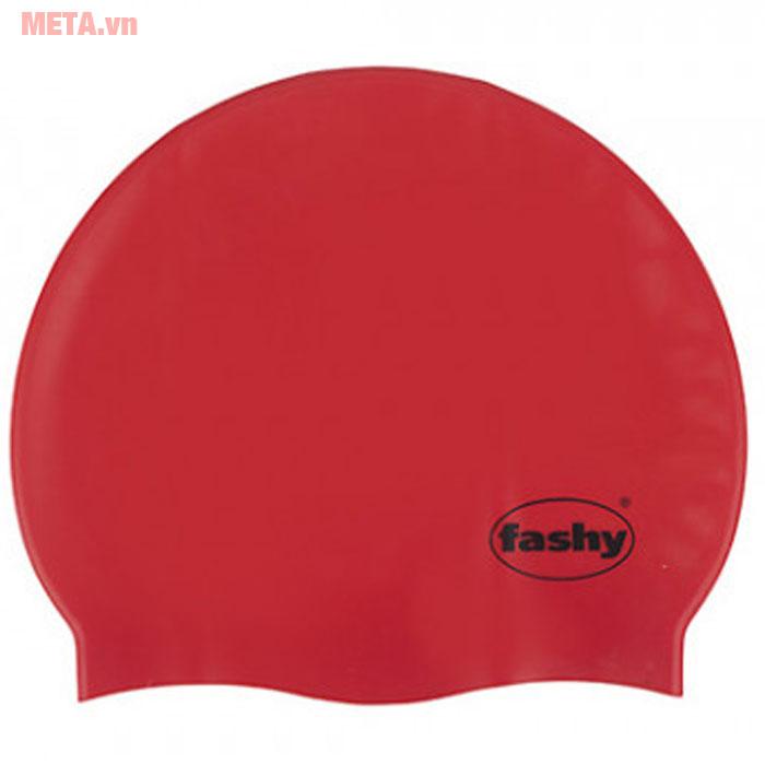 Nón bơi người lớn Silicon màu đỏ
