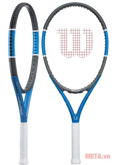 Vợt tennis thiết kế chắc chắn