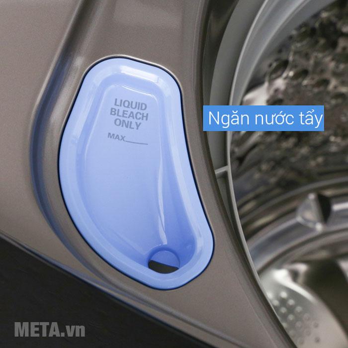 Máy giặt LG với ngăn chứa nước tẩy