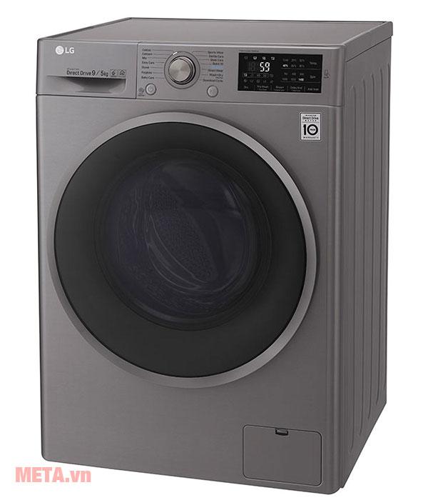 Máy giặt sấy lồng ngang có thiết kế tiện lợi