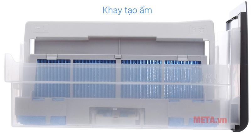 Khay tạo ẩm có thể tháo rời để vệ sinh
