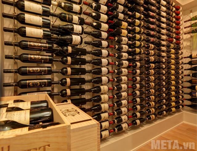 Giữ cho rượu vang không bị rung lắc