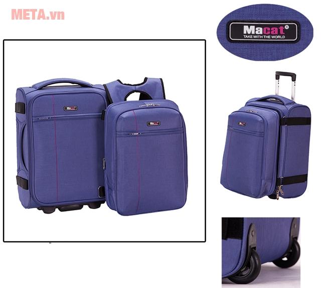 Bộ vali balo laptop
