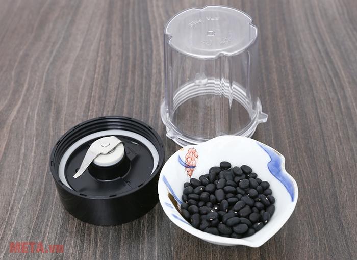 Cối nhỏ dùng để xay hạt, xay khô.