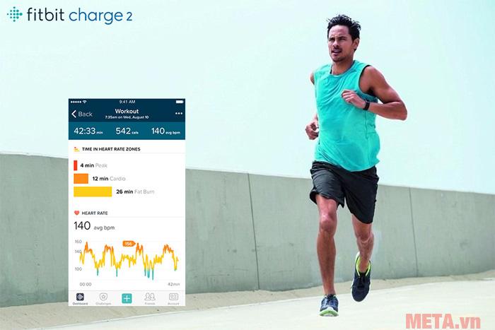 Fitbit Charge 2 xứng đáng là huấn luyện viên ảo của bạn