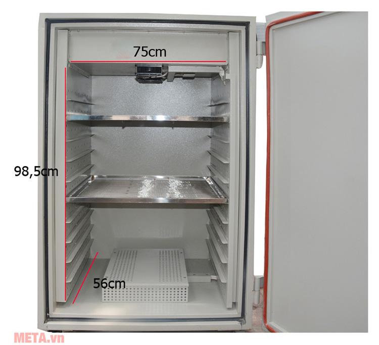 Khoang trong của máy sấy thực phẩm