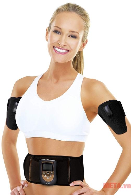 Đai massage giảm béo cho bụng và cánh tay