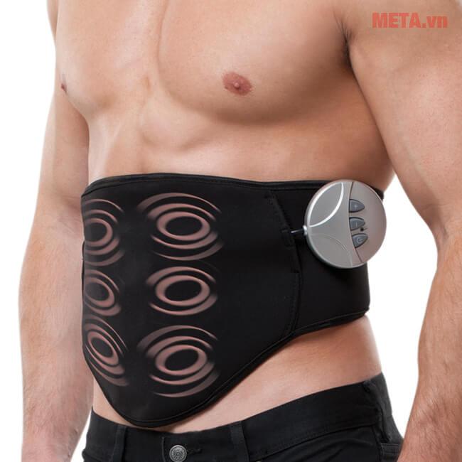 Đai massage lưng bụng