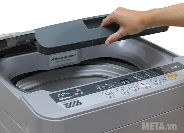 Máy giặt giặt được 7kg quần áo