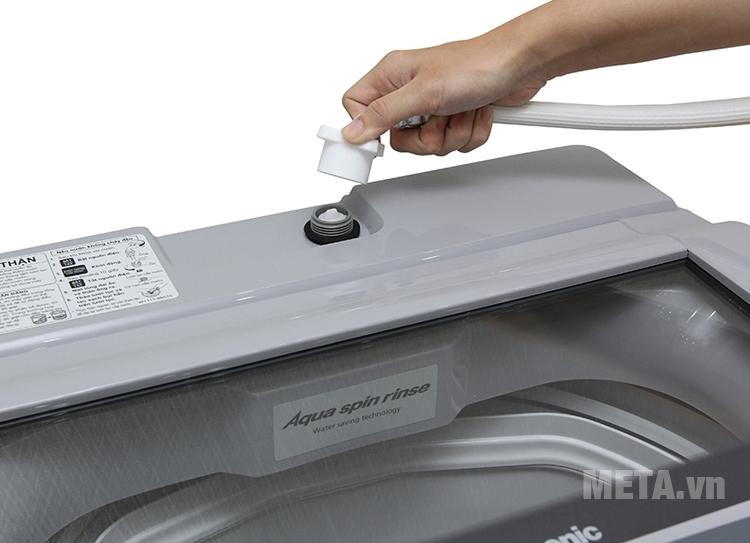 Máy giặt có bảng điều khiển điện tử